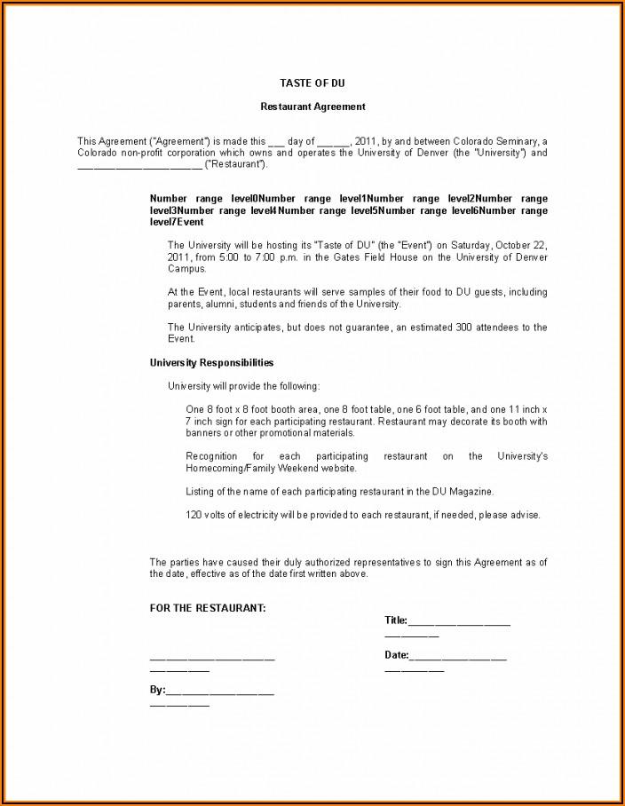 Employee Contract Sample Pdf