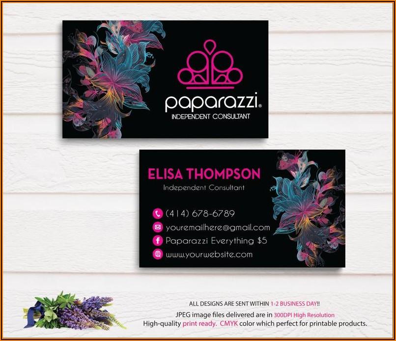 Etsy Paparazzi Business Cards