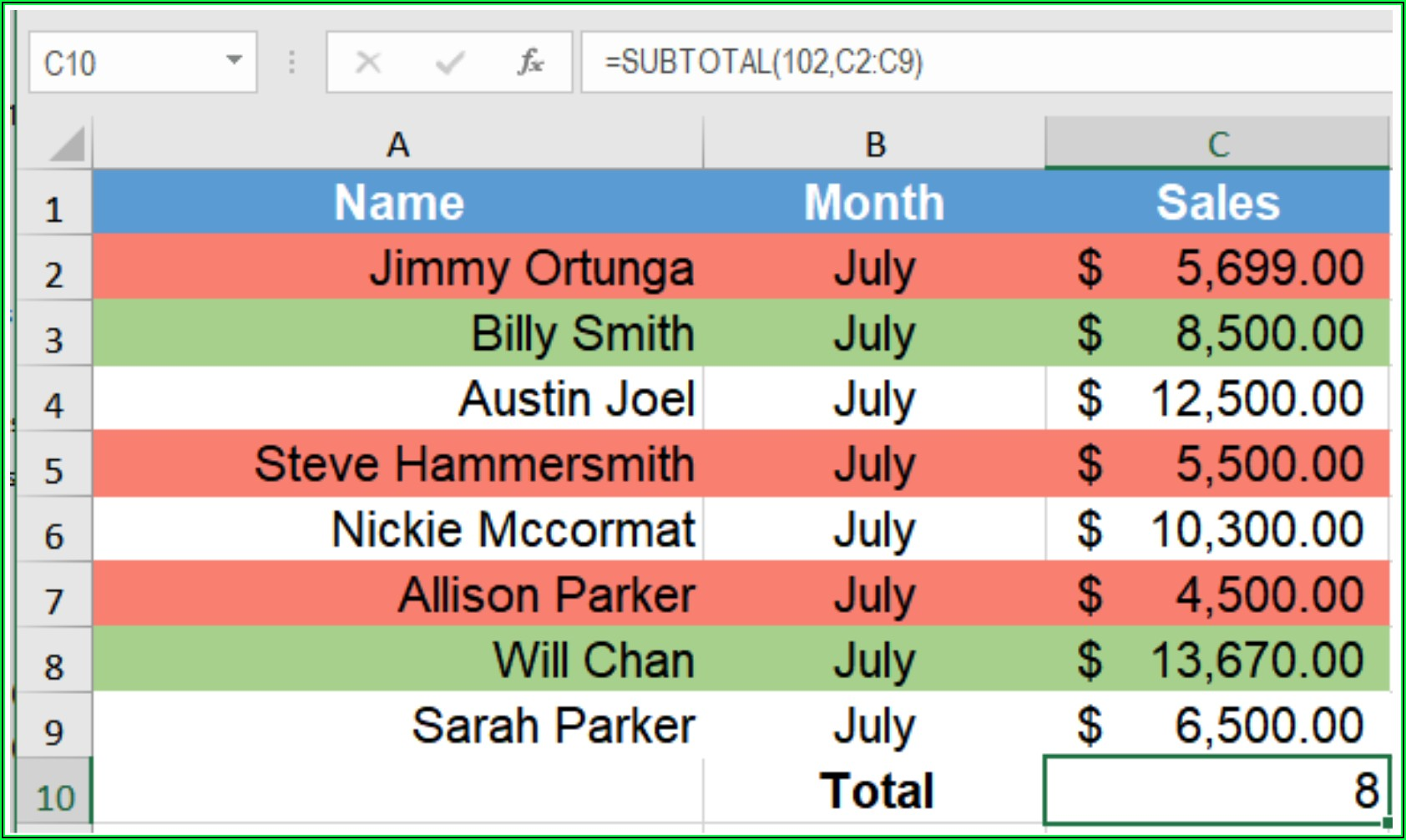 Excel Vba Select Cells By Color