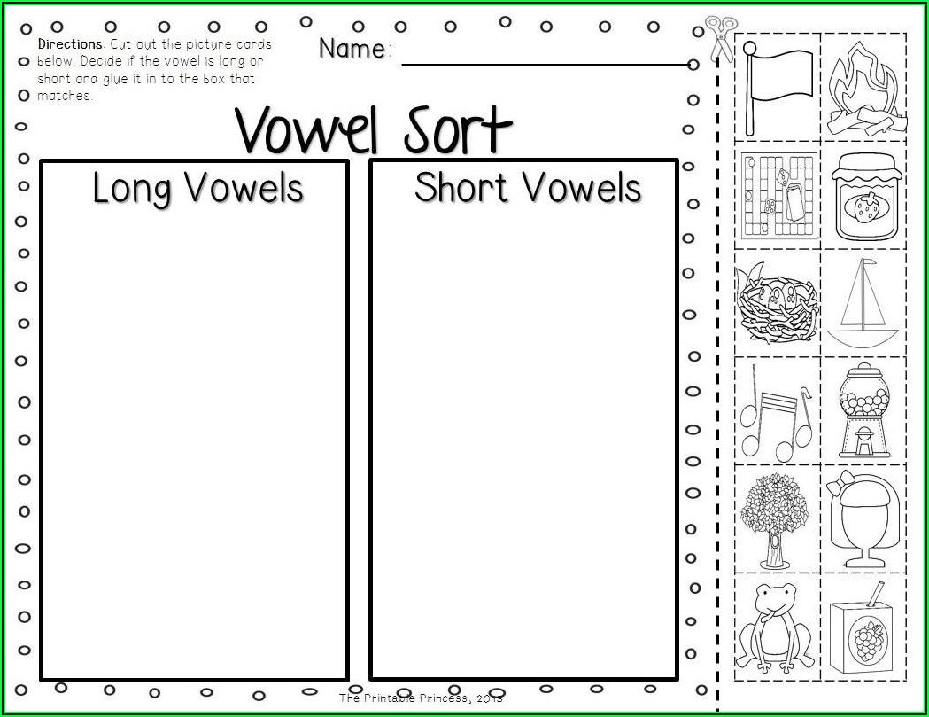First Grade Long Vowel Worksheets