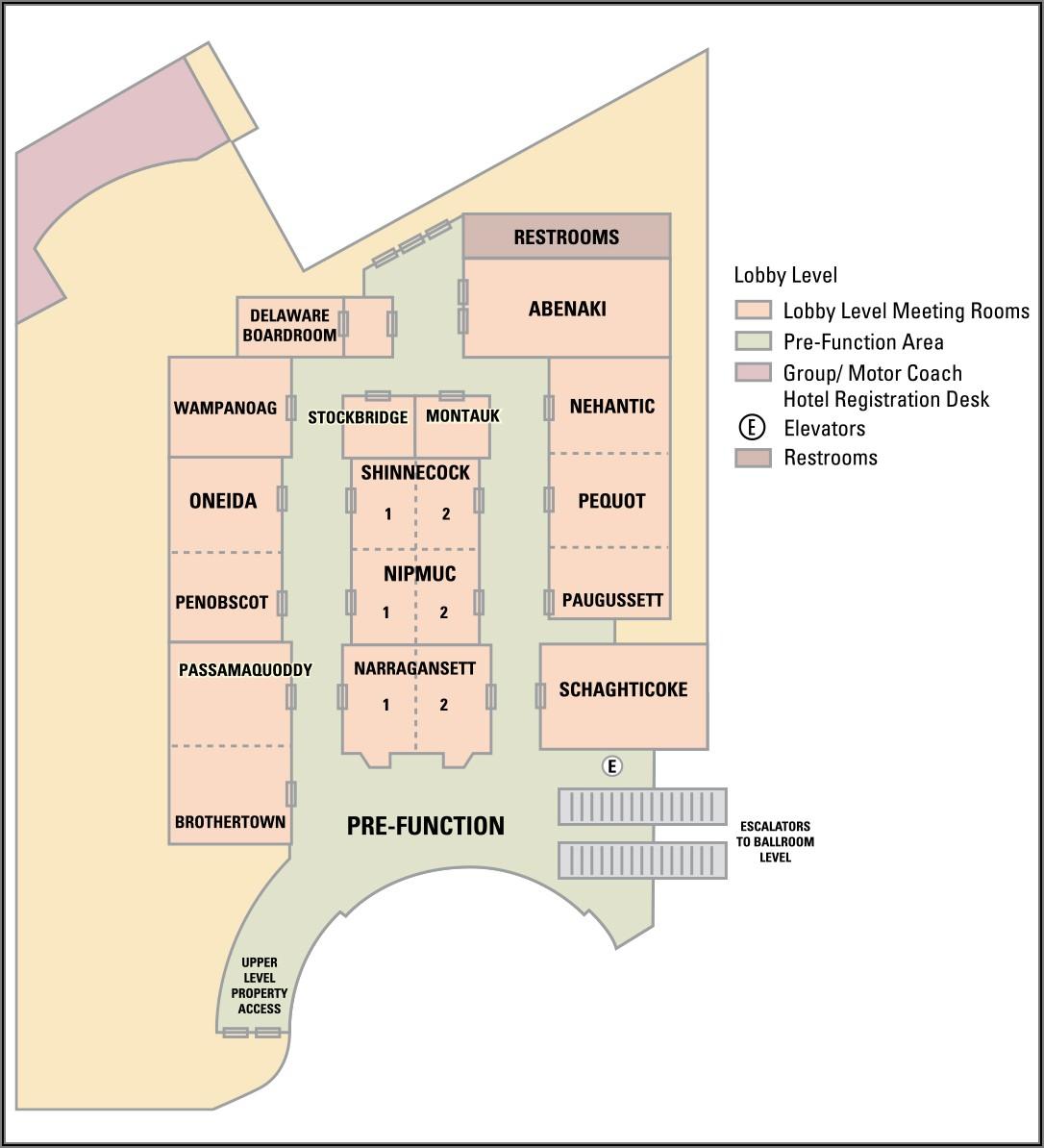 Floor Plan Mohegan Sun Map