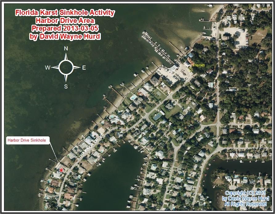 Florida Sinkhole Map Pinellas County