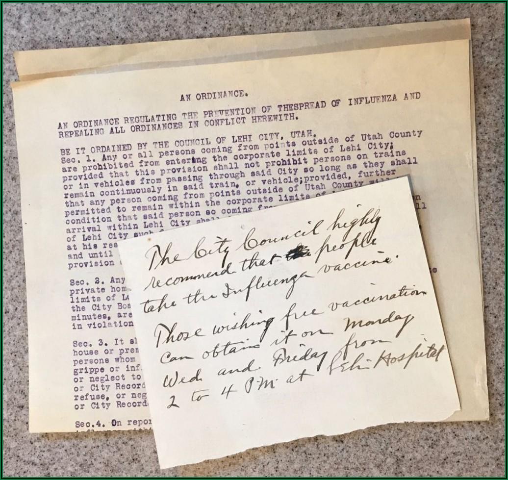 Flu Of 1918 Timeline