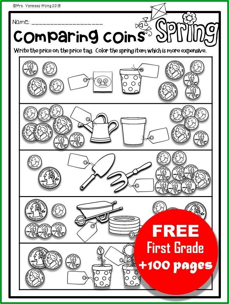 Free First Grade Winter Worksheets