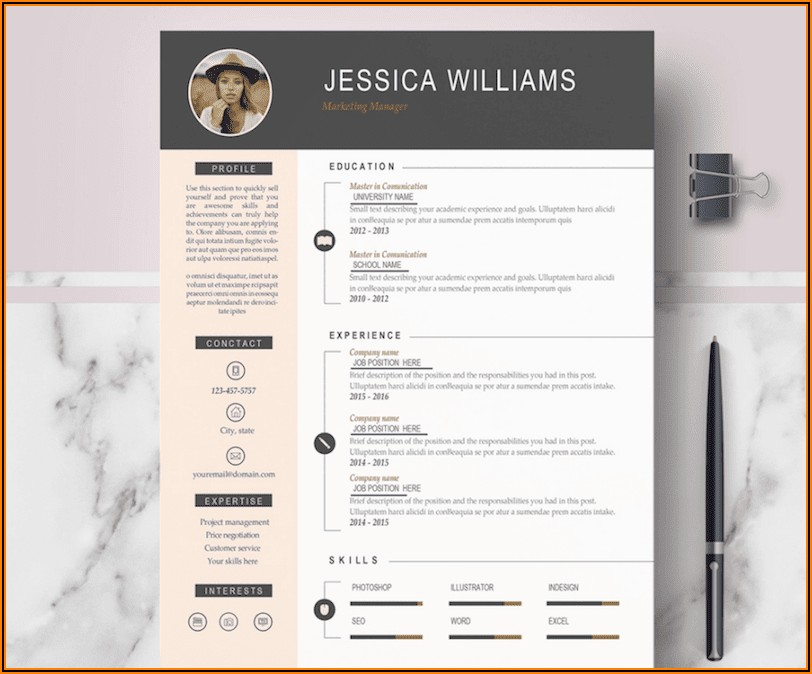 Free Ms Word Templates For Cv