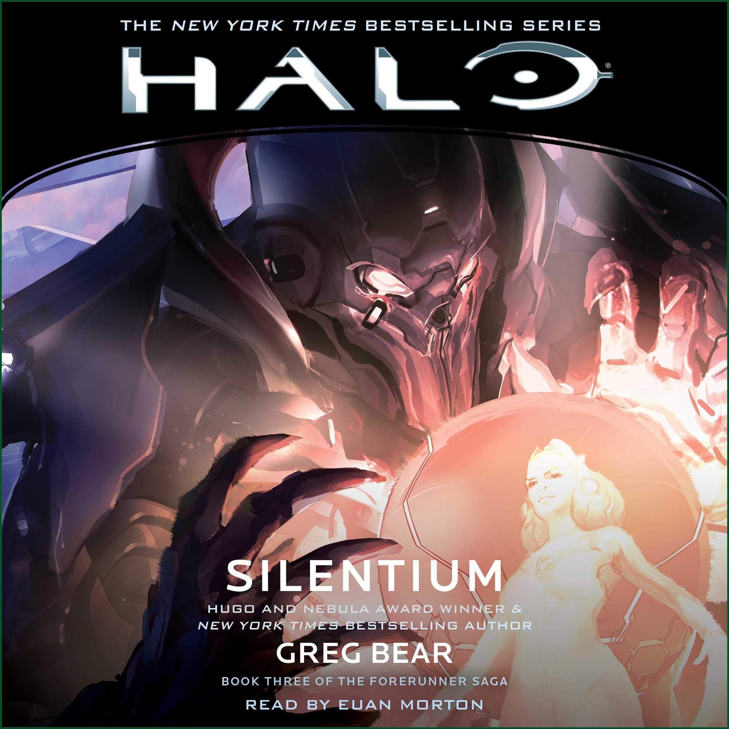Halo Audio Books Chronological Order