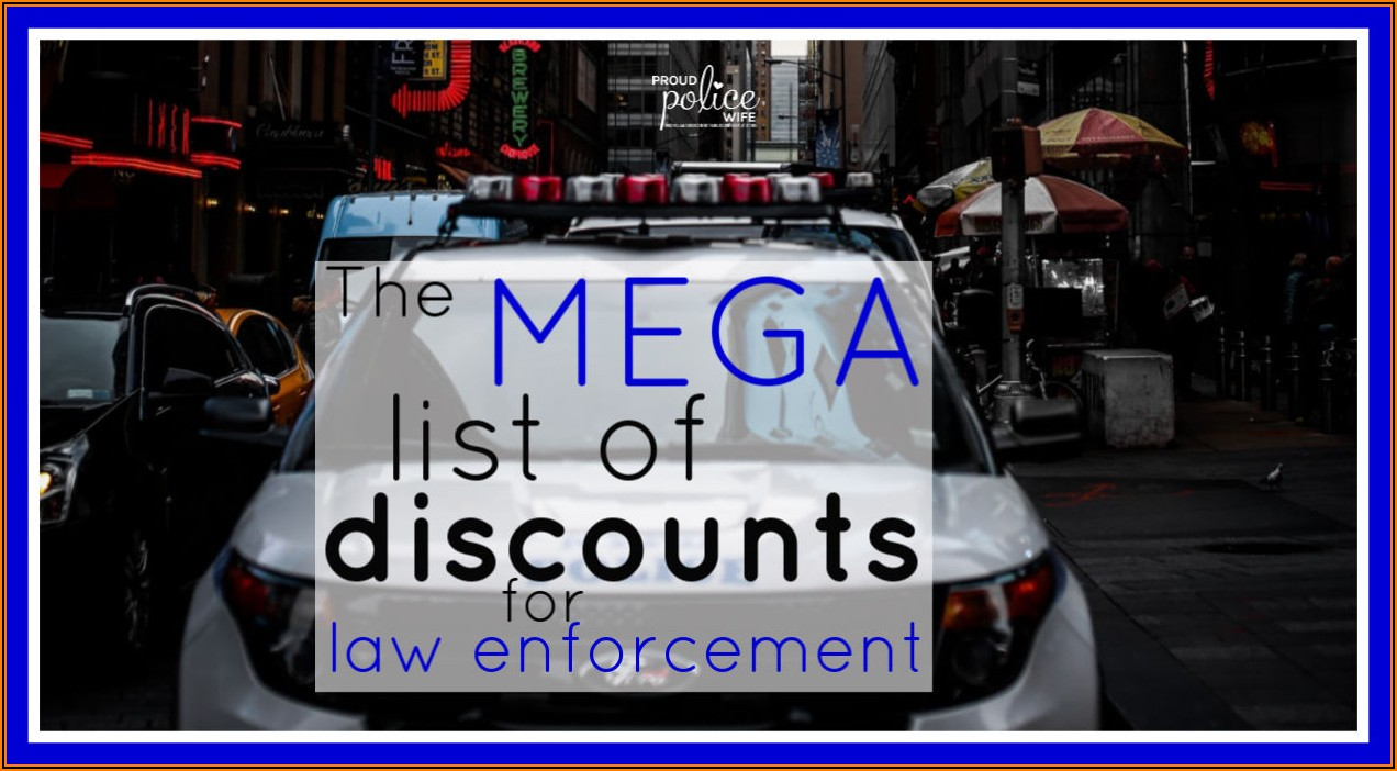 Law Enforcement Business Card Holder