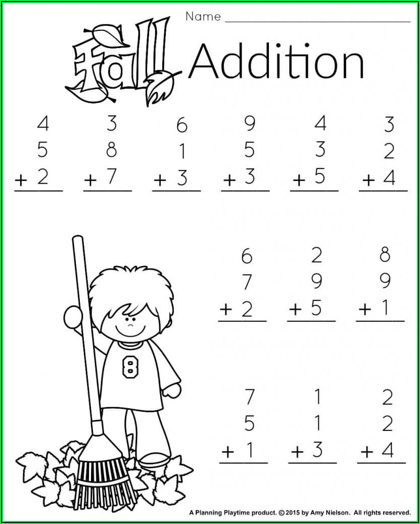 Make Your Own Math Facts Worksheets