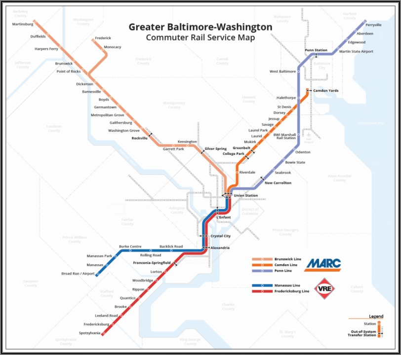 Mbta Commuter Rail Map With Towns