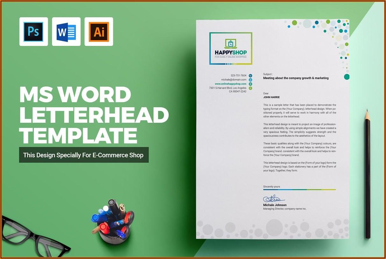 Microsoft Office Word Templates Letterhead