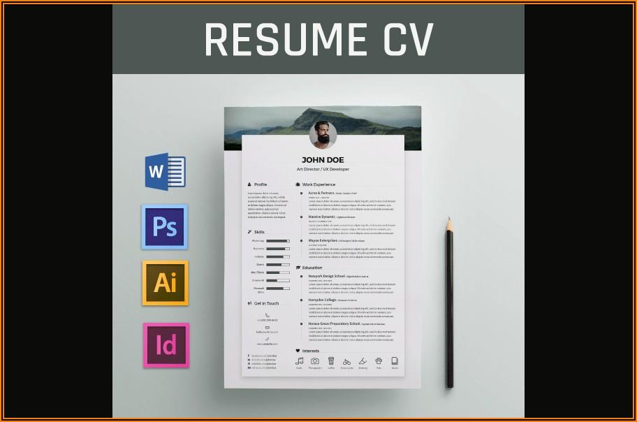 Microsoft Word Templates For Cv