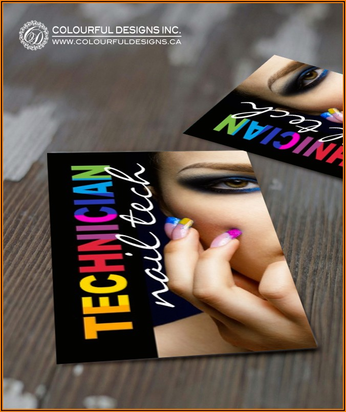 Mobile Nail Tech Business Cards