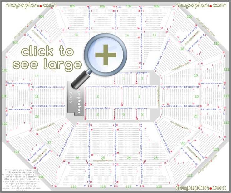 Mohegan Sun Arena Concert Seating Map