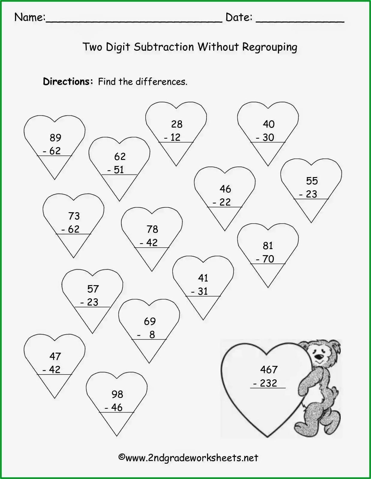 Multiplication Word Problems Worksheets For 2nd Grade