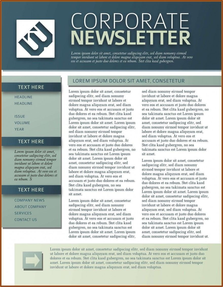 Newsletter Template Microsoft Word 2007
