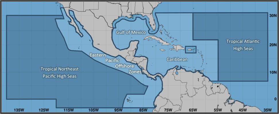 Noaa Marine Weather Forecast Map