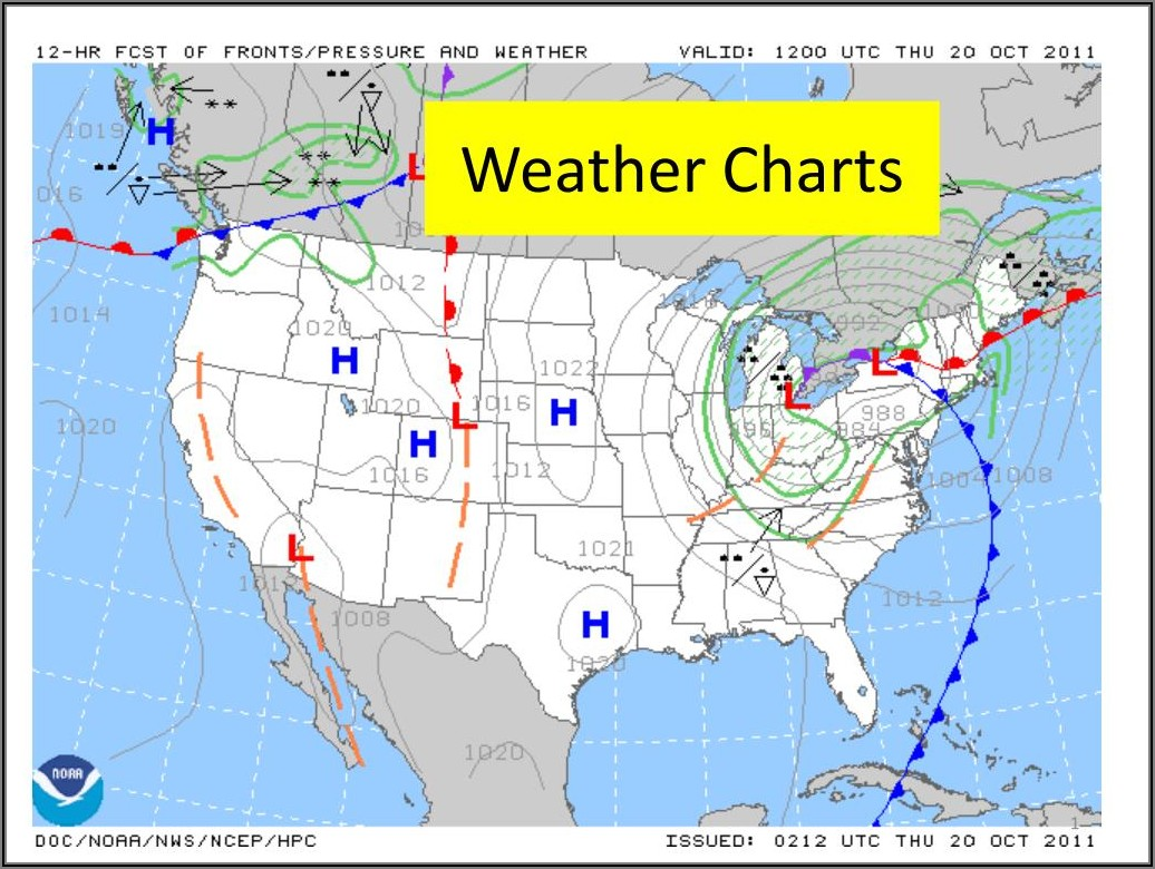 Noaa Weather Forecast Charts
