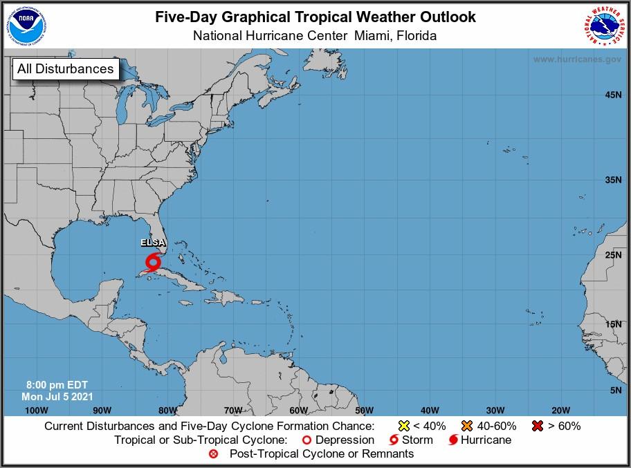 Noaa Weather Map Florida