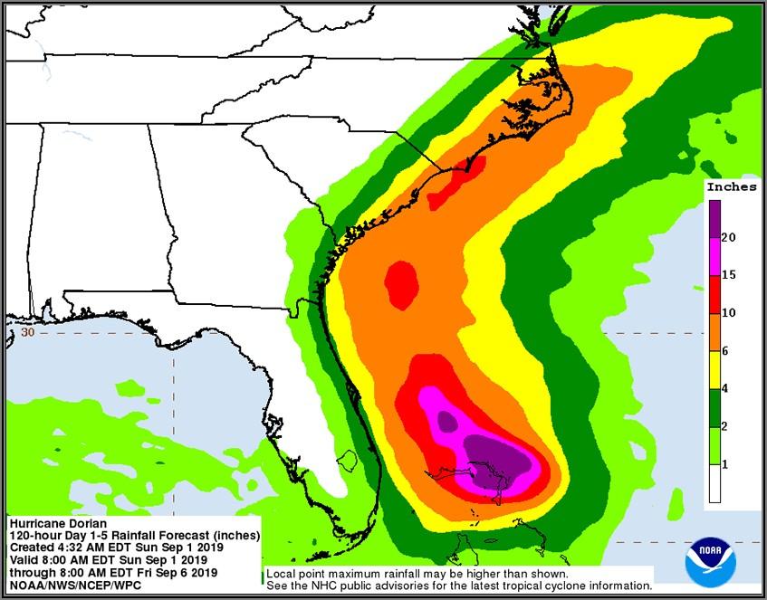 Noaa Weather Radar Hurricane Dorian