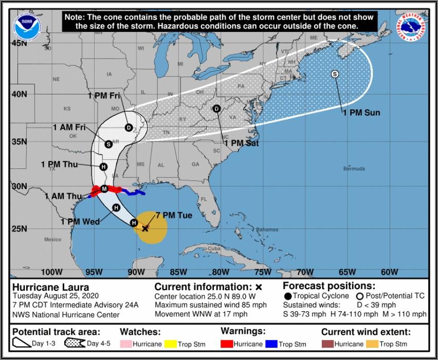 Noaa Weather Radar Hurricane Laura