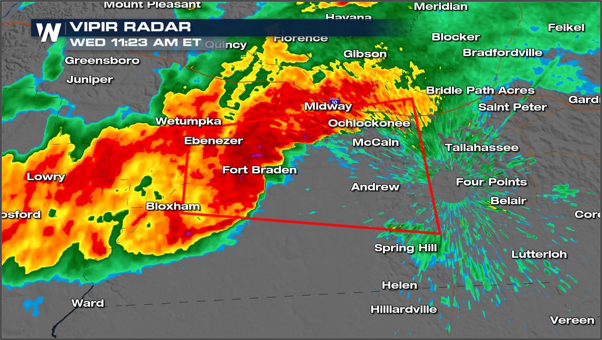 Noaa Weather Radar Tallahassee Florida