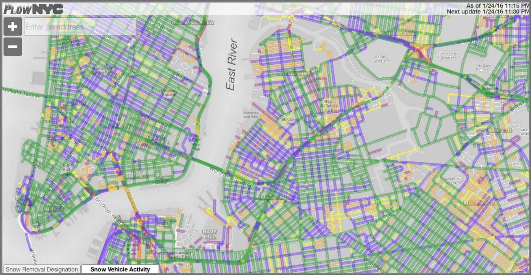 Nyc Alternate Side Parking Map Bronx