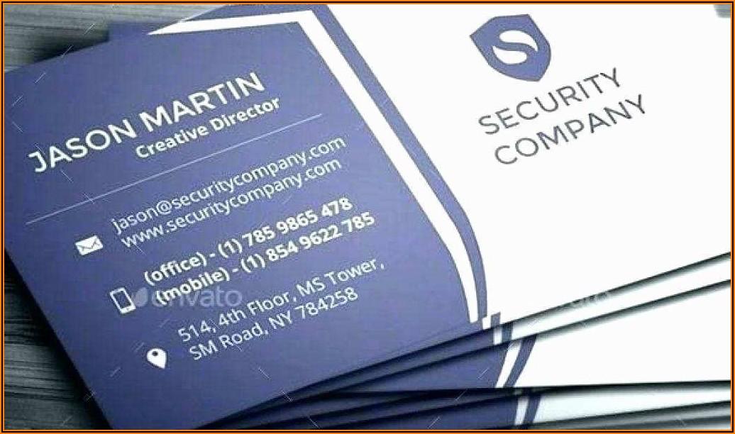 Open Office Business Card Template