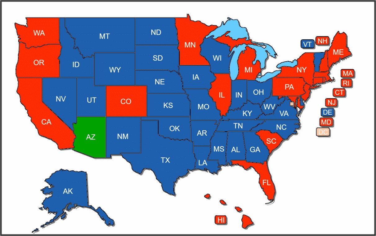 Pa Concealed Carry Reciprocity Map
