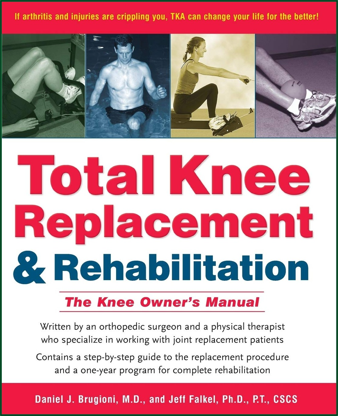 Partial Knee Replacement Rehab Timeline