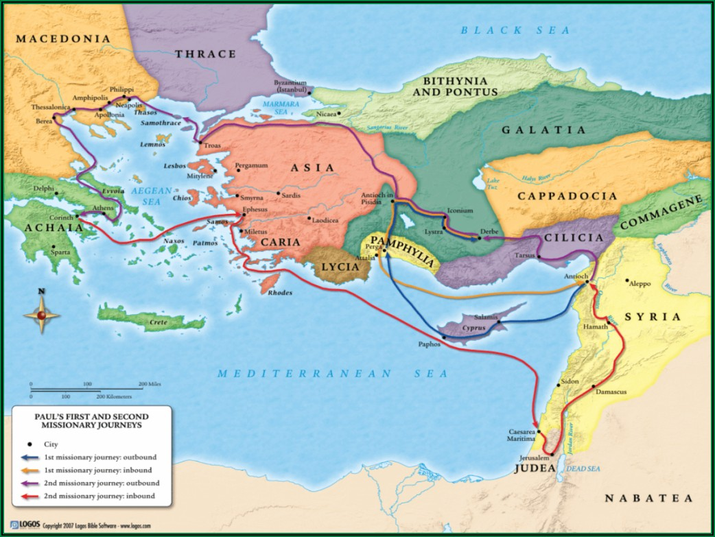 Paul Of Tarsus Timeline