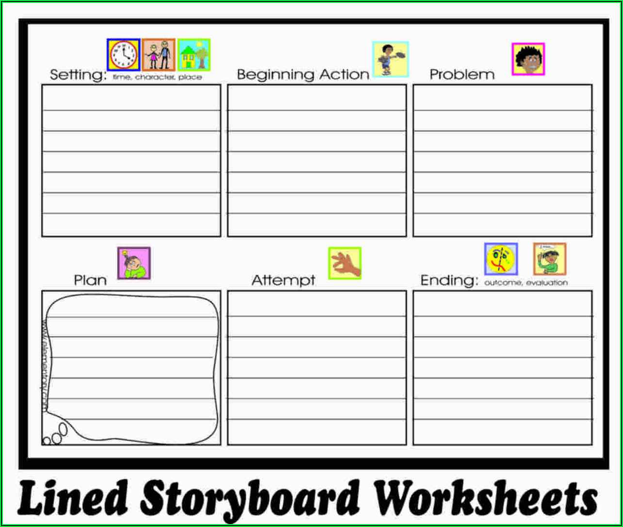 Picture Story Writing Worksheet Pdf