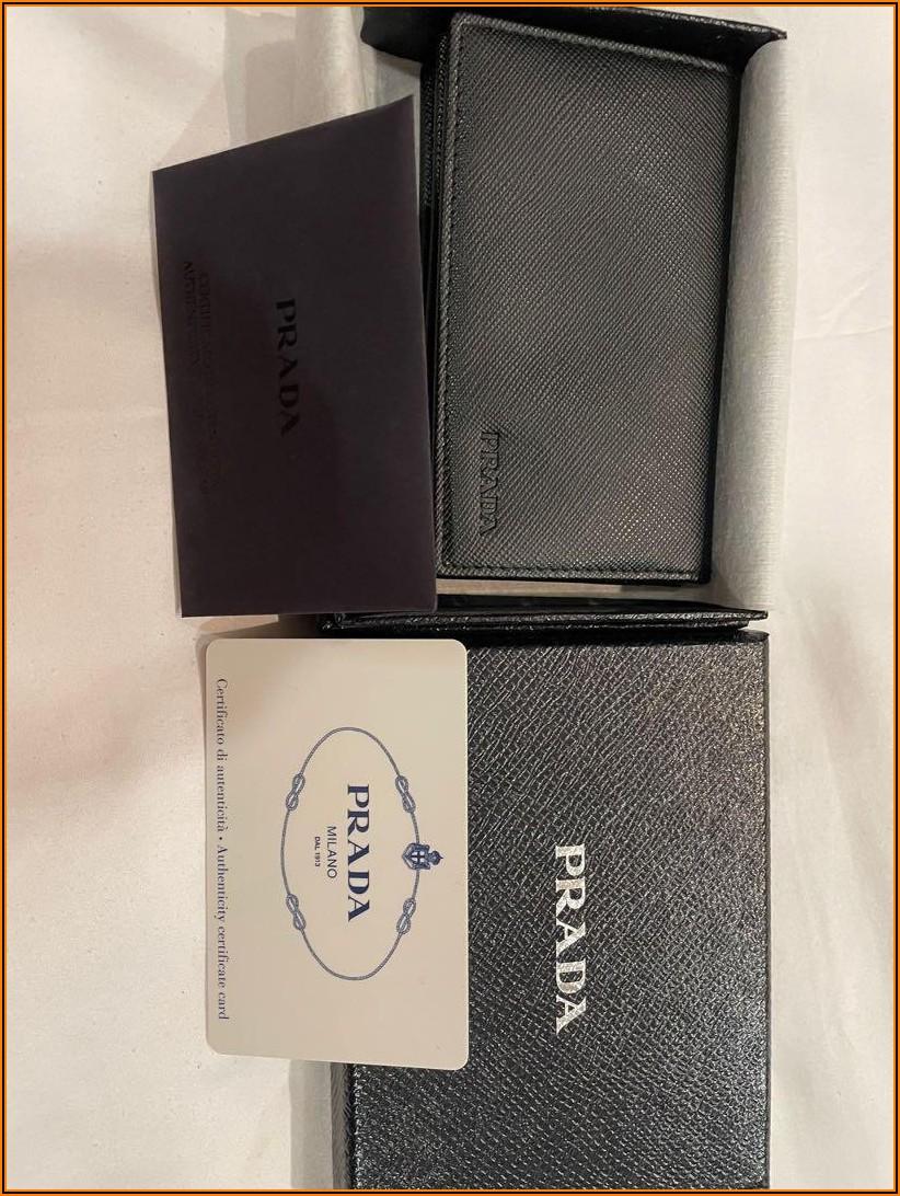 Prada Women's Business Card Holder