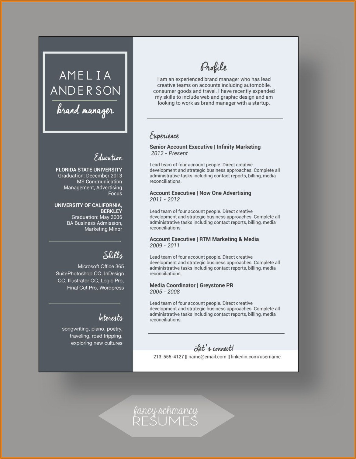Resume Cover Letter Template Word Doc