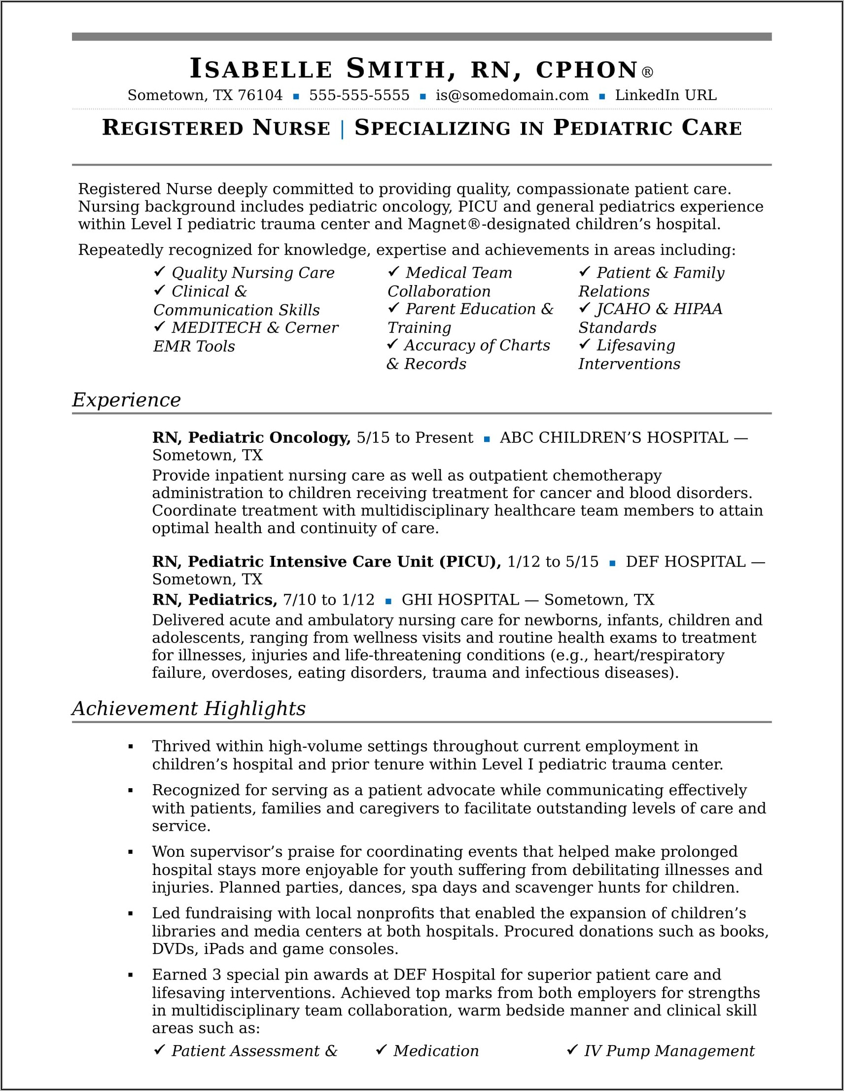 Resume Summary Examples For Machine Operator