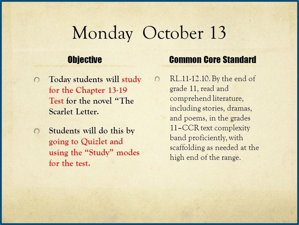 Scarlet Letter Chapter 11 13 Quizlet