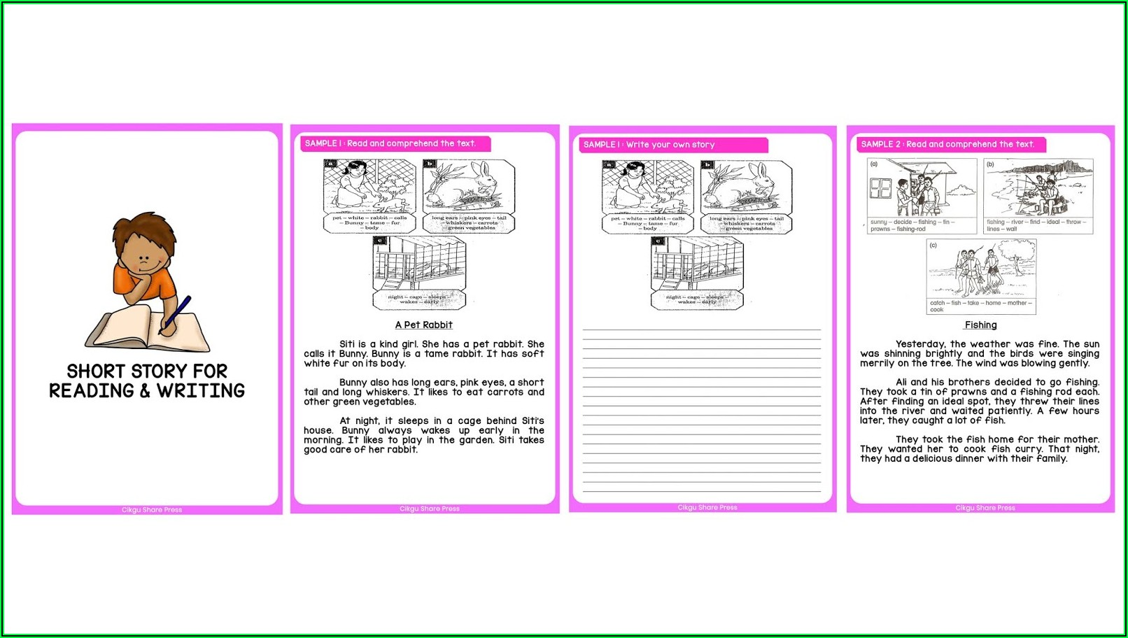 Short Story Writing Worksheets Pdf