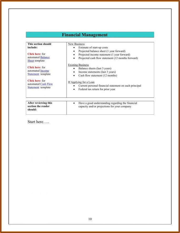 Simple Income Statement Template Word