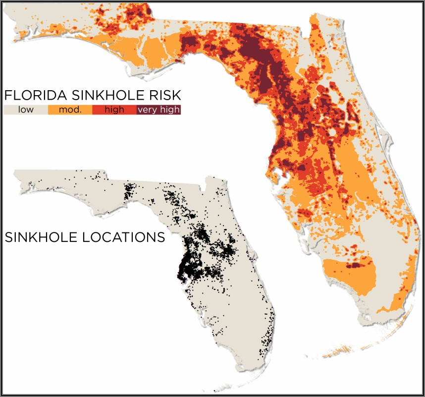 Sinkhole Risk Areas In Florida