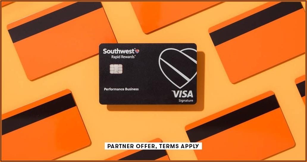 Southwest Rapid Rewards Business Cards