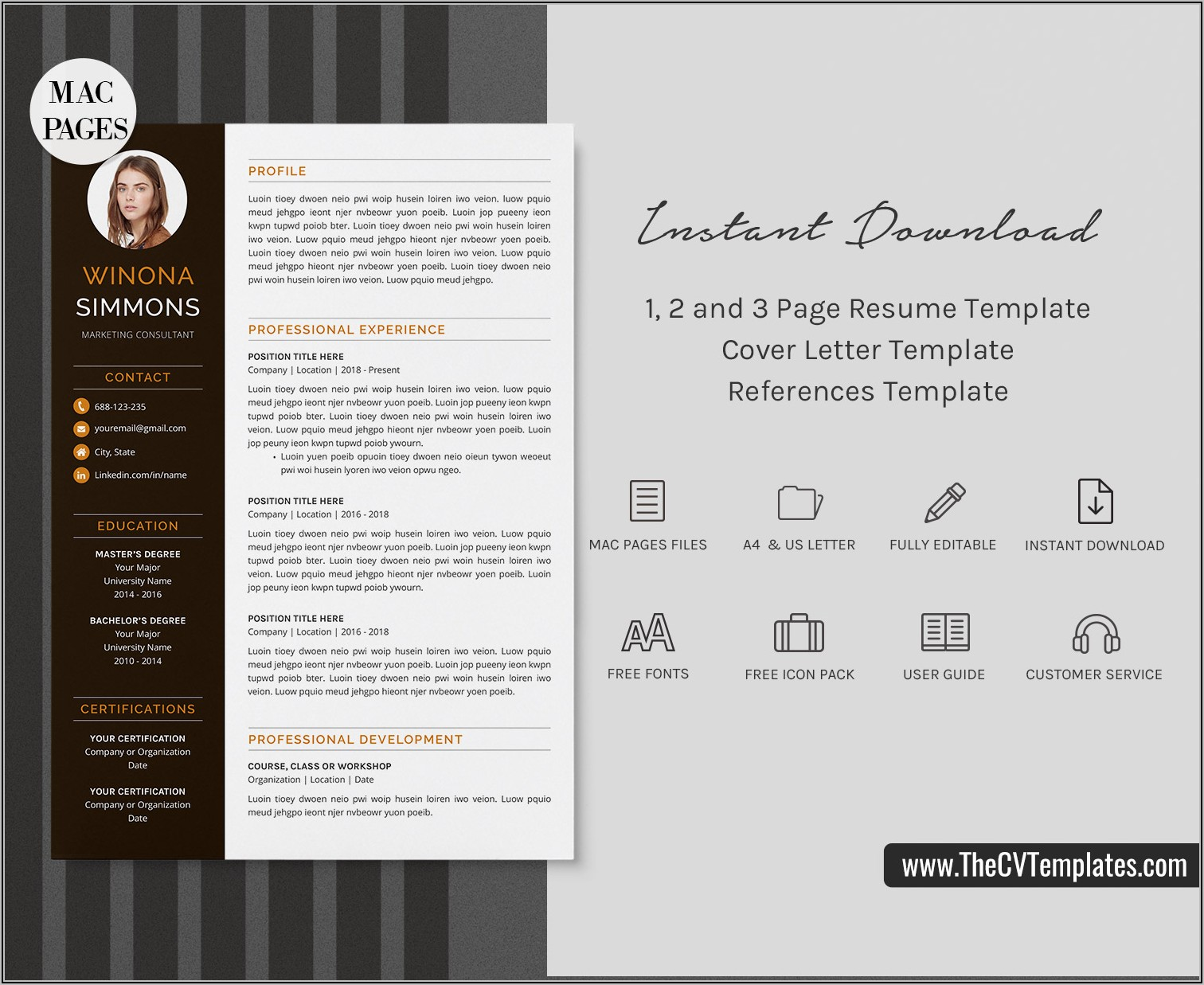 Teacher Resume Sample Free Download