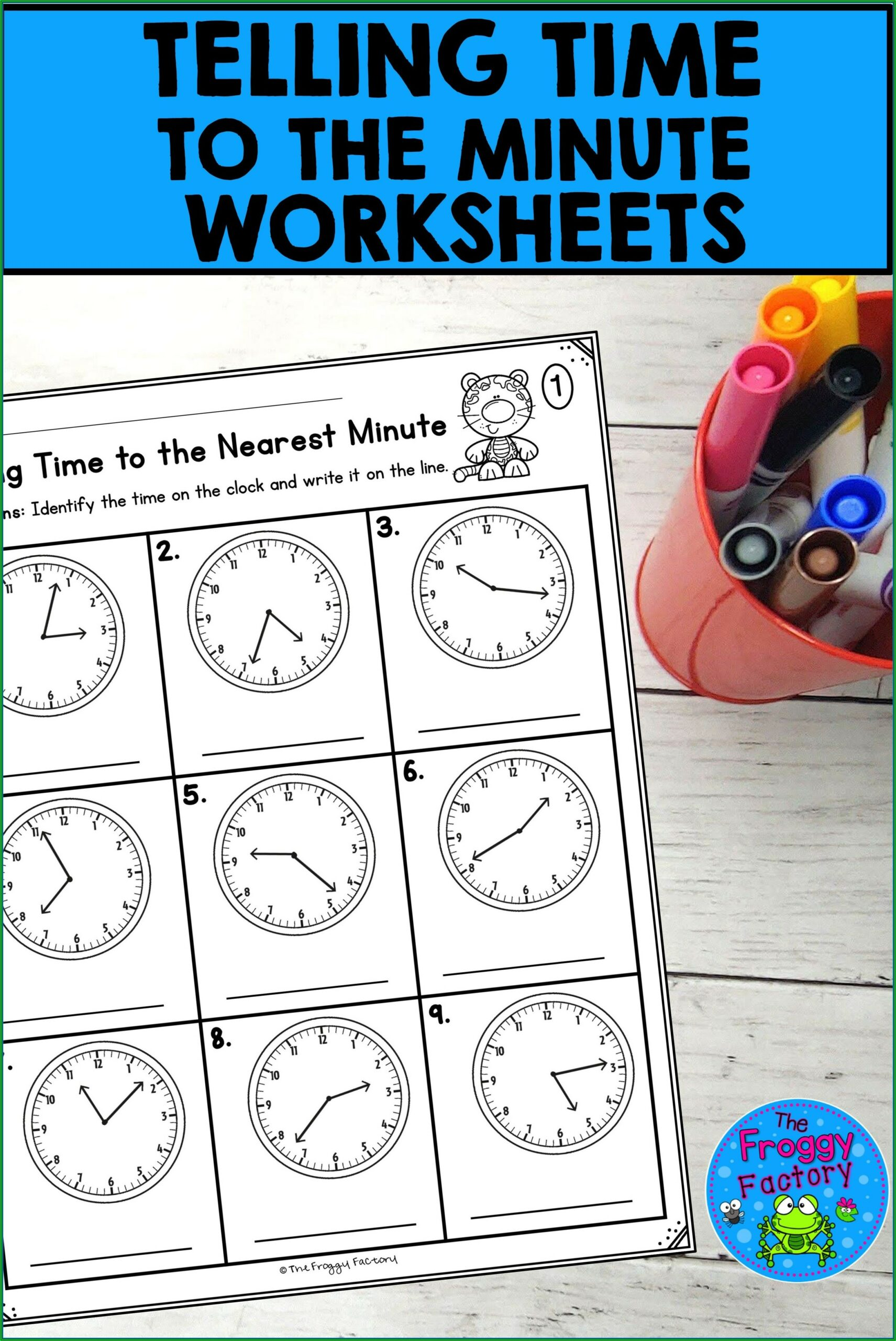 Telling The Time Activities Printable