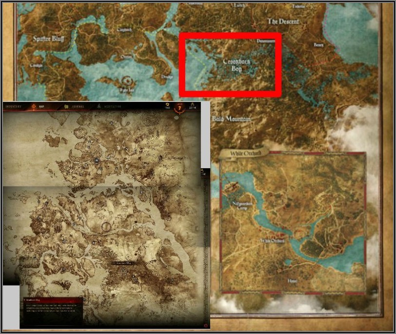 The Witcher 3 World Map Pdf