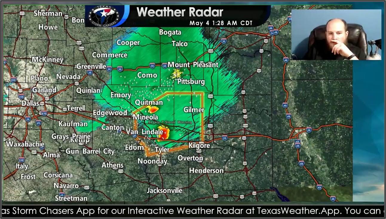 Tyler Texas Weather Radar Map