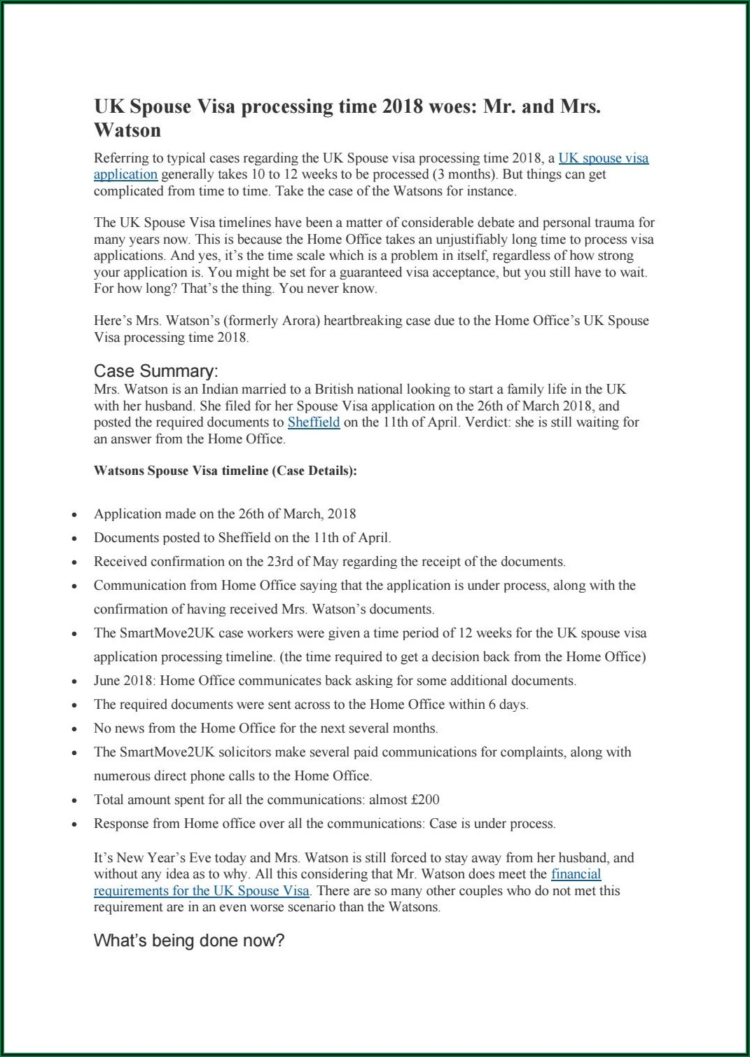 Uk Spouse Visa Timeline 2019 India