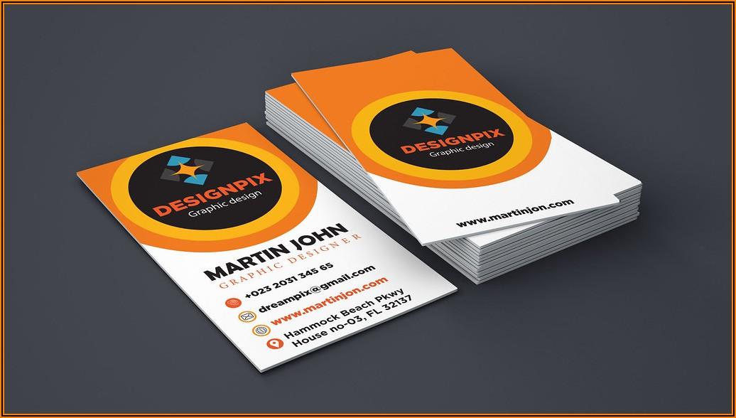 Uline Business Card Holder