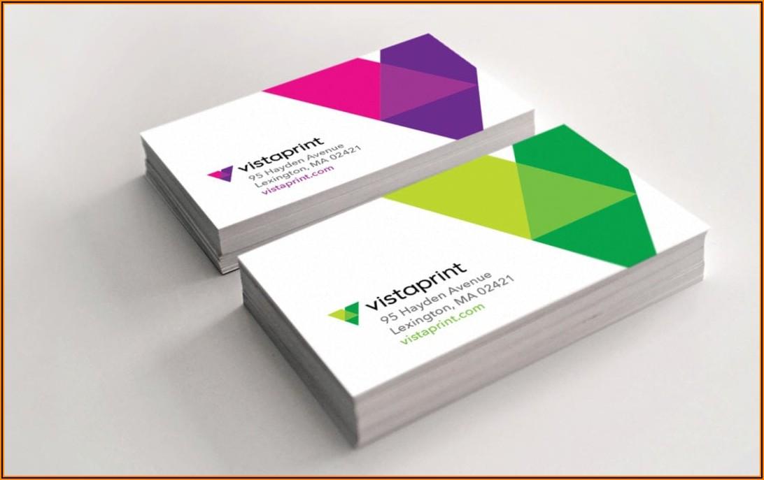 Vistaprint 500 Free Premium Business Cards