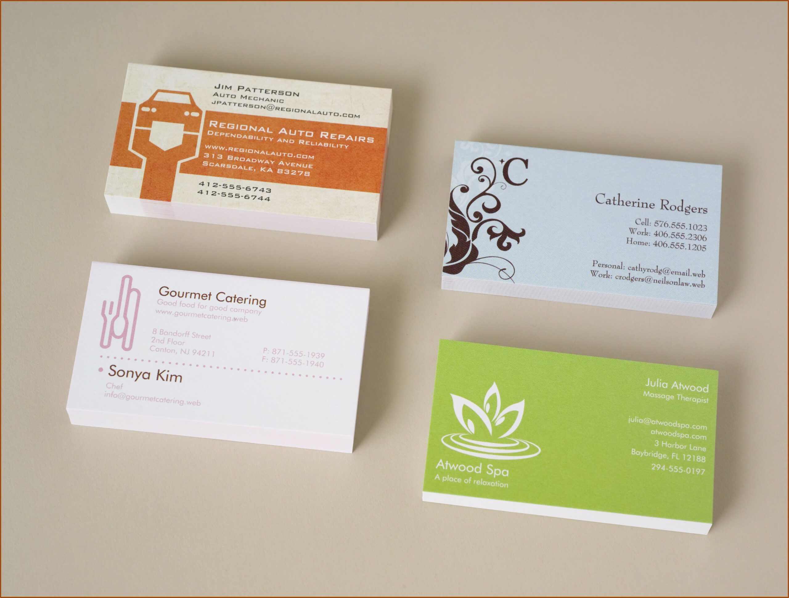 Vistaprint Business Card Size In Cm