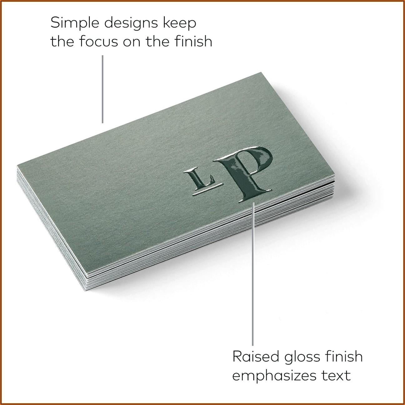 Vistaprint Spot Uv Business Card Review