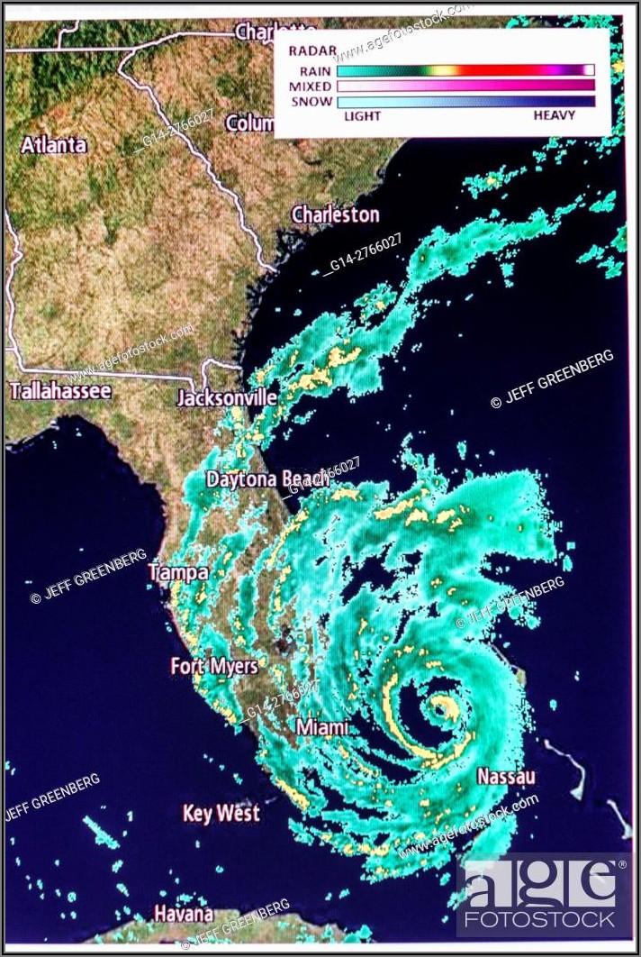 Weather Map Florida Hurricane