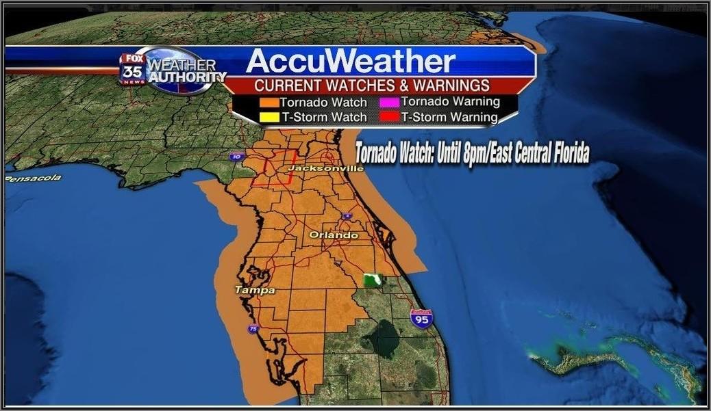 Weather Map Orlando Florida